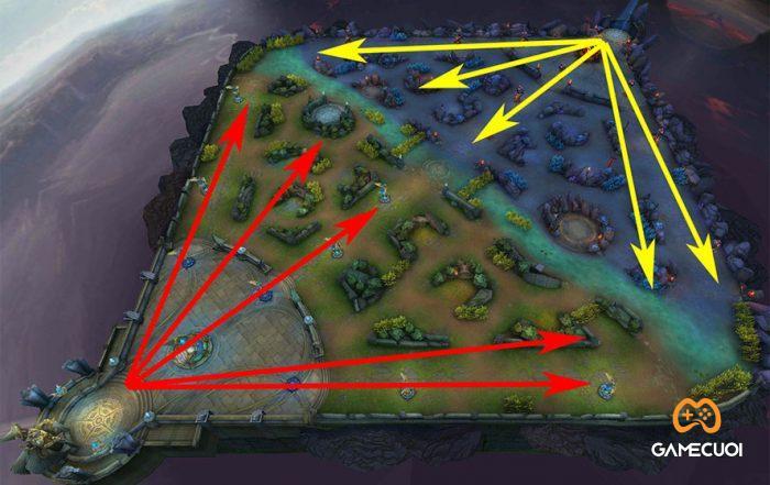 Bản đồ game Liên Quân Mobile