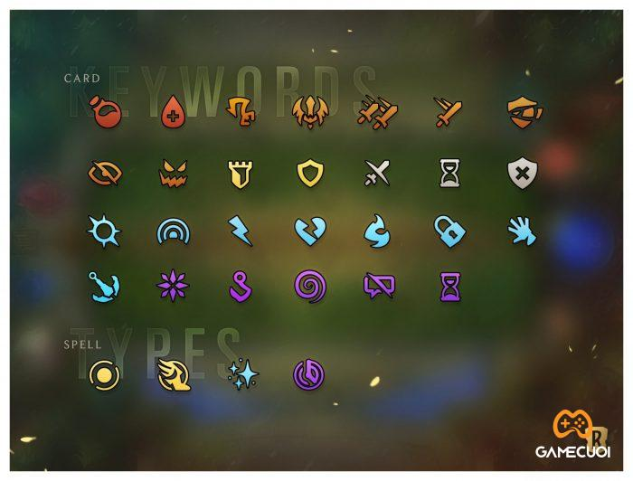 Một số từ khóa trong game