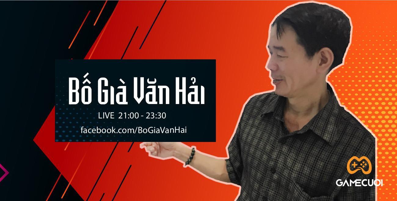 Bố Già Văn Hải –  60 tuổi vẫn đam mê game FPS