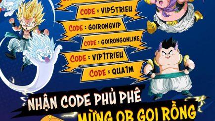 Giftcode Gọi Rồng Online mới nhất hôm nay