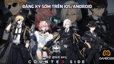 Counter: Side phiên bản SEA chính thức mở đăng ký sớm cho game thủ trên Android và IOS.