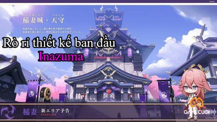 """Genshin Impact tiếp tục rò rỉ thông tin về bản đồ của """"Lôi Quốc"""" Inazuma"""