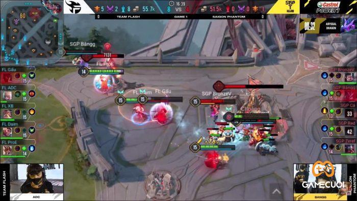 Saigon Phantom ngỡ ngàng nhận thất bại trước Team Flash