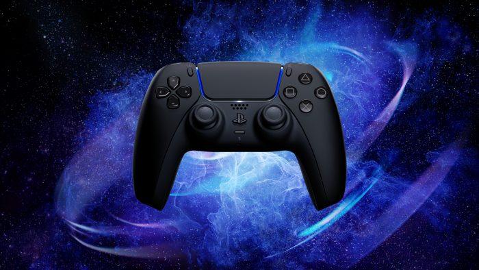 PS5 DualSense black red 1 2 Game Cuối