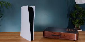 PS5 lột xác với phiên bản vỏ gỗ đậm chất cổ điển