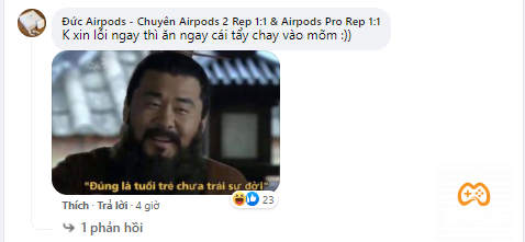 Một số bình luận chỉ trích phát ngôn thiếu chuẩn mực của Yiwei
