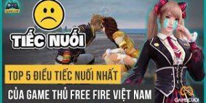 Top 5 Điều Tiếc Nuối Nhất Của Game Thủ Free Fire Việt Nam