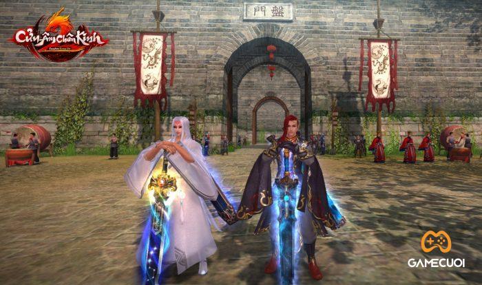 Trầm Phù Chi Kiếm (trái) Mộ Bạch Kiếm (Phải) - 2 PVC tuyệt thế, độc quyền dành cho VIP 10 của CACK