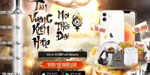 Phong Khởi Trường An mở cửa đăng ký trước, tặng iPhone 12 cho người chơi