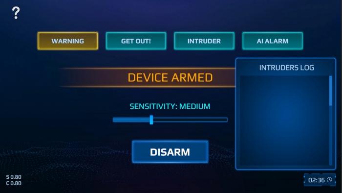 spy alarm switch 1 Game Cuối