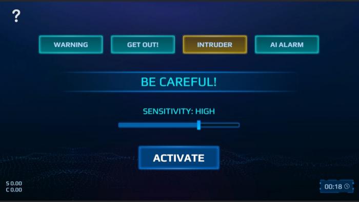 spy alarm switch 4 Game Cuối