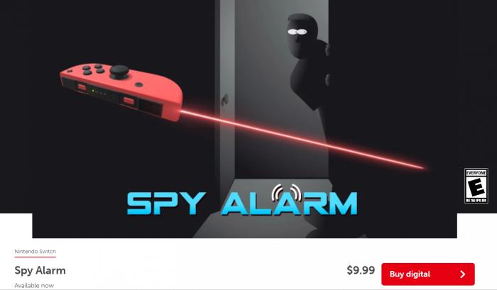 spy alarm switch 5 Game Cuối