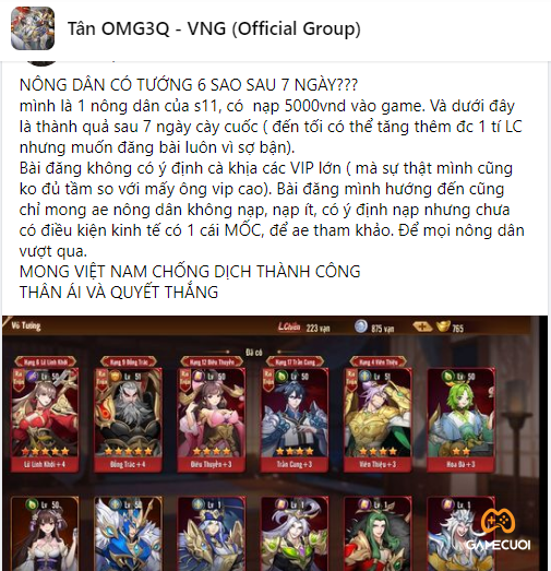 tan omg3Q nhan pham 1 Game Cuối