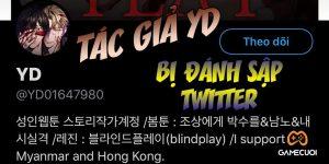 """Sau khi lên án các dịch giả Việt """"làm lậu"""" bộ truyện Blind Play, Twitter của tác giả YD bất ngờ bị """"đánh sập"""""""