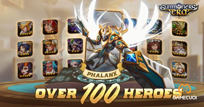 100+ tướng, 6 hệ khắc chế, muôn vàn lối build