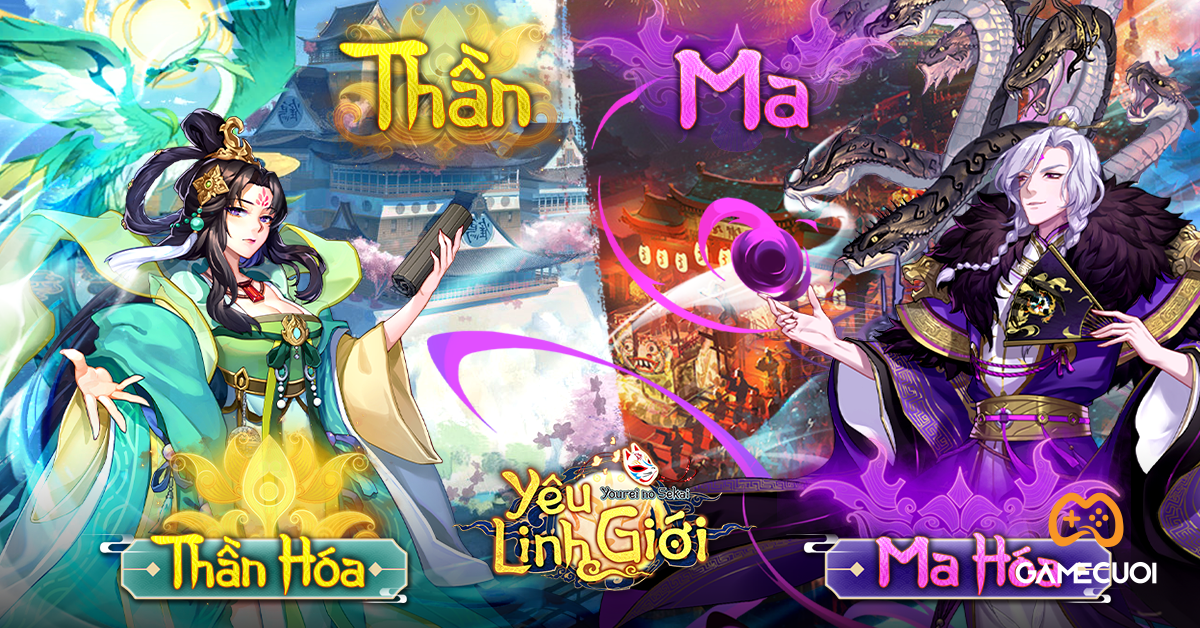 Có gì đặc sắc trong Yêu Linh Giới VGP, sản phẩm game Onmyoji chất Nhật Bản