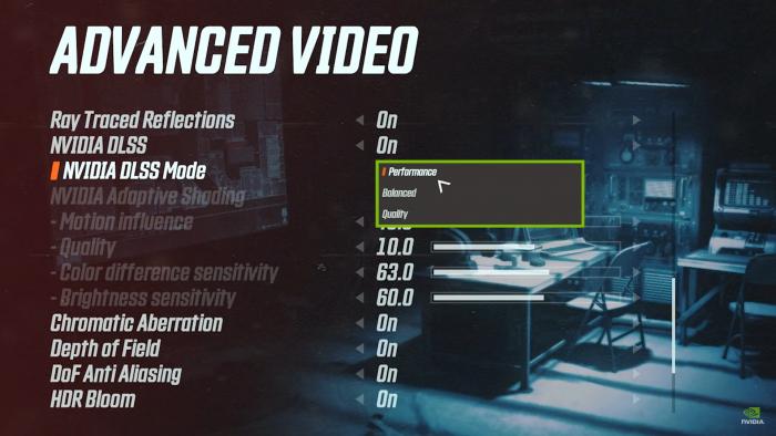 DLSS Nvidia screenshot all mode Game Cuối