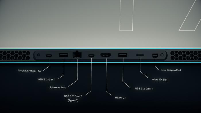 Alienware x15 và x17 siêu mỏng