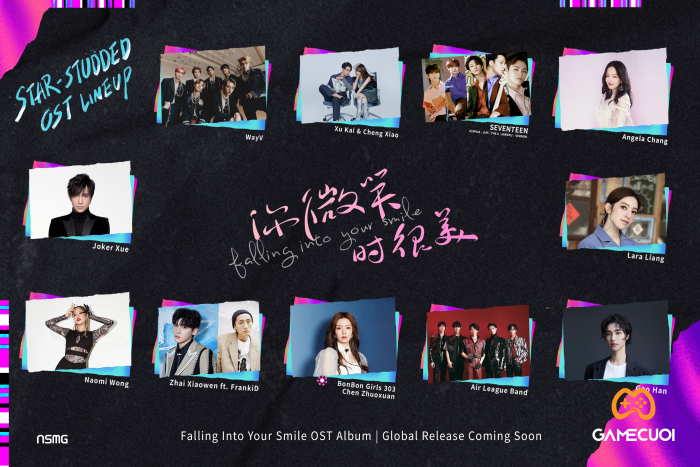 Falling Into Your Smile OST Lineup Game Cuối