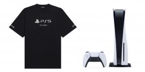 Chiếc áo PlayStation 5 x Balenciaga này có giá… 15 triệu đồng, đắt hơn cả máy console thật
