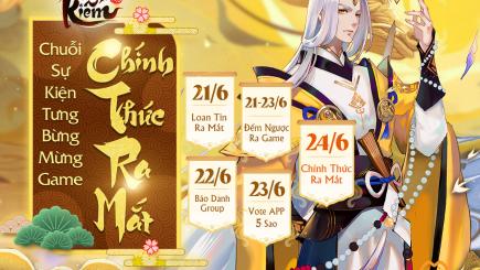 Tuyệt Kiếm Cổ Phong chính thức Open Beta ngày 24/6 cùng loạt sự kiện siêu hot!