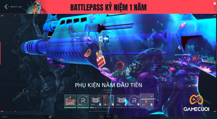 Battle Pass Kỷ Niệm 1 Năm