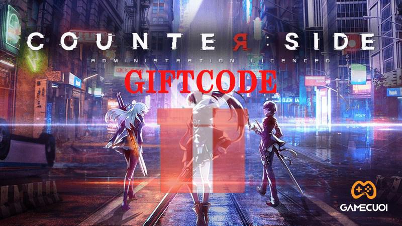 Code Counter Side tháng 9/2021 và cách nhập Giftcode
