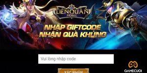 Giftcode Liên Quân Mobile: Cập nhật Code tháng 6/2021 mới nhất