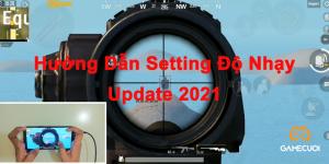 PUBG Mobile: Hướng dẫn cài đặt độ nhạy súng và all setting mới nhất 2021