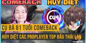 Free Fire: Cụ Bà 81 Tuổi Comeback Hủy Diệt Các ProPlayer Top Đầu Thái Lan