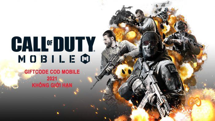 giftcode call of duty mobile không giới hạn