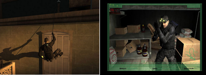 top 10 game hanh dong an than Tom Clancys Splinter Cell Game Cuối
