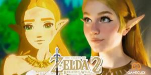 Màn cosplay công chúa Zelda hoàn hảo chào mừng Breath of the Wild 2