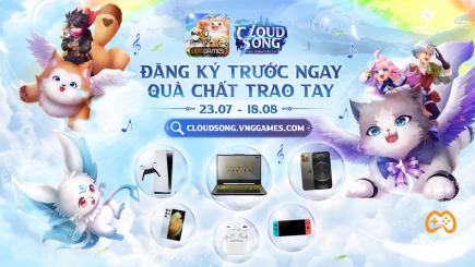 Cloud Song VNG chơi lớn với bộ quà Đăng ký sớm: iPhone 12 Pro Max, Samsung Galaxy S21 Ultra, PlayStation 5, laptop ASUS Gaming