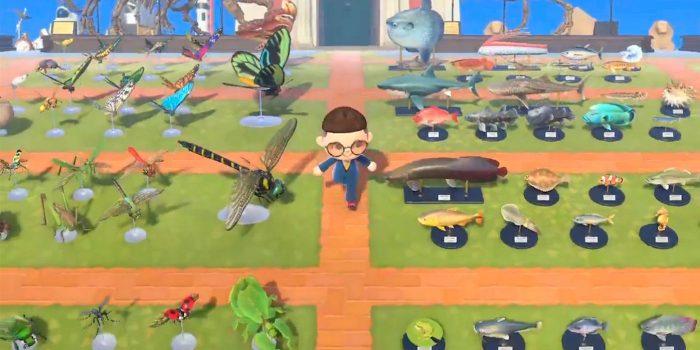 10 tro choi Nintendo cuc kho de hoan thanh 100 Animal Crossing New Horizons Museum Outdoors Creatures Game Cuối