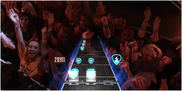 10 tro choi thu vi noi khong voi bao luc Guitar Hero Game Cuối