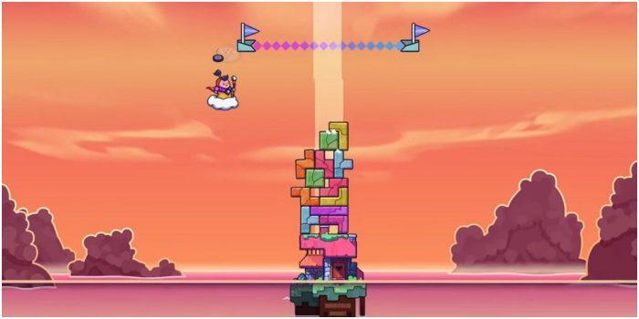 10 tro choi thu vi noi khong voi bao luc Tricky Towers Game Cuối