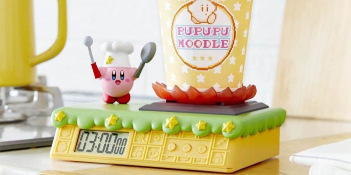 10 vat dung nha bep doc dao theo chu de gaming Kirby Noodle Timer Game Cuối