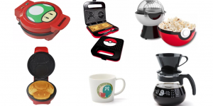 10 món vật dụng nhà bếp thú vị theo chủ đề gaming