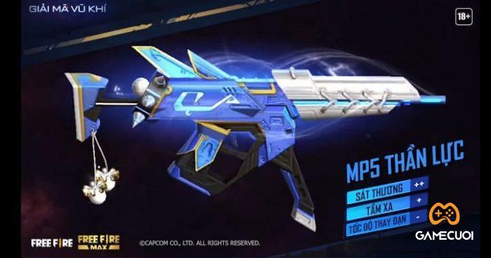 Chỉ số skin MP5 Thần Lực