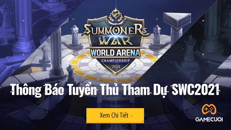 Com2us hé lộ danh sách tuyển thủ tham dự giải đấu SWC2021 với ba cái tên đến từ Việt Nam