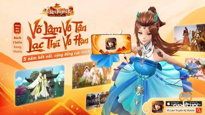 Cô nàng NPC Chân Nhi với hình ảnh 2D quen thuộc cũng đã được đầu tư hình ảnh, nâng cấp lên phiên bản 3D mới lạ, mang đến sự thích thú cho game thủ