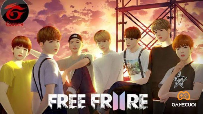 Free Fire x BTS