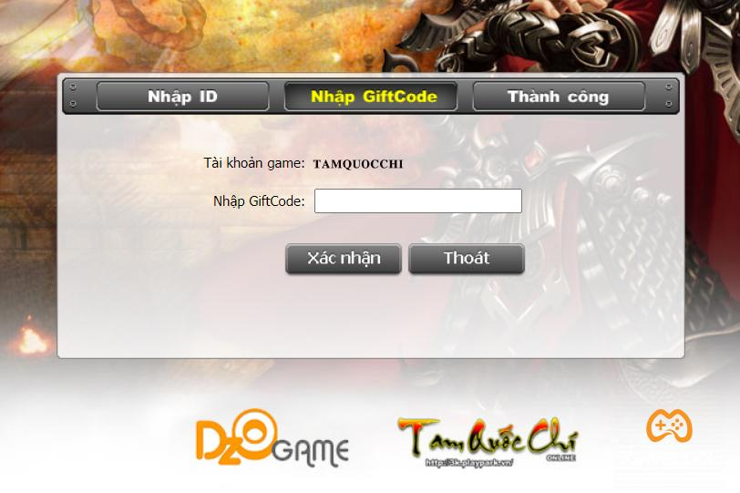Tam Quốc Chí Online khai mở máy chủ PK – tặng 100 GiftCode giá trị