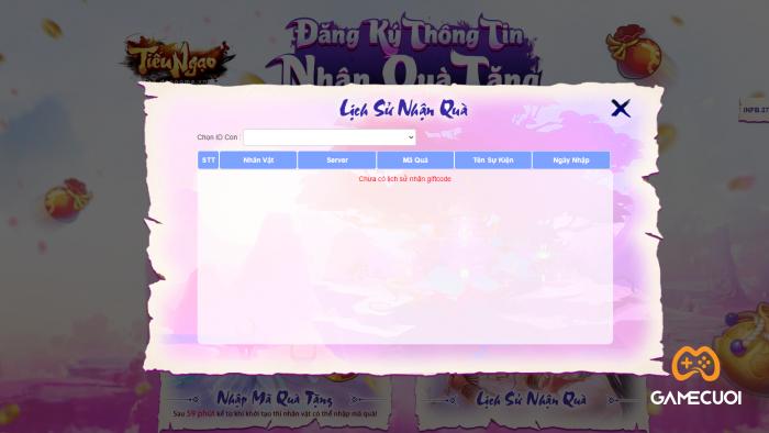 Hướng dẫn nhập code Tiếu Ngạo Giang Hồ