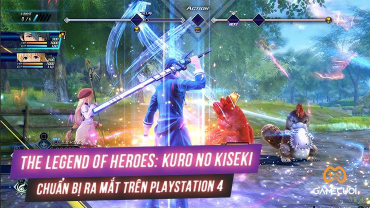 [PlayStation 4] The Legend of Heroes sắp có phần mới mang tên Kuro no Kiseki
