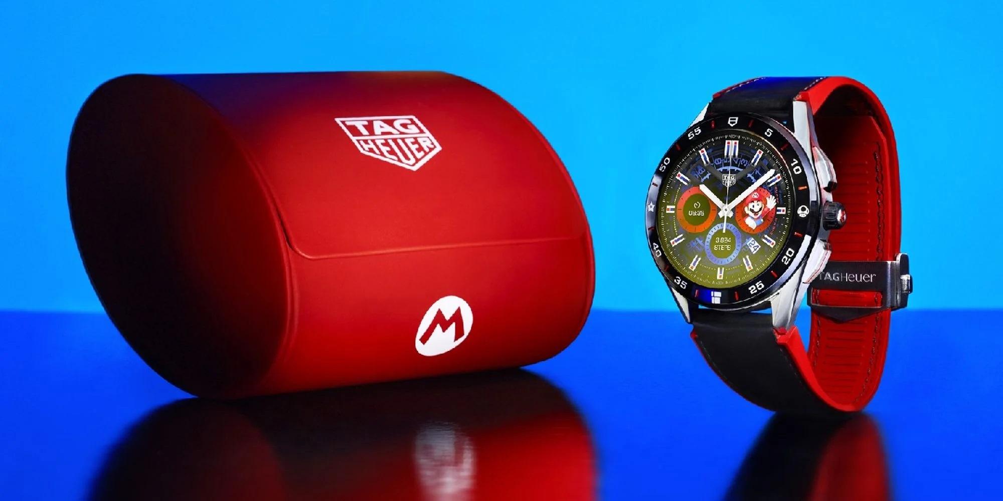 Xuất hiện đồng hồ thông minh Super Mario có giá gần 50 triệu đồng