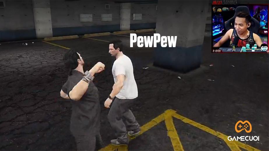 """GTA Mixi: Độ Mixi """"đọ tay"""" PewPew và pha phá án thần tốc của cảnh sát Napo Lê Khôi"""