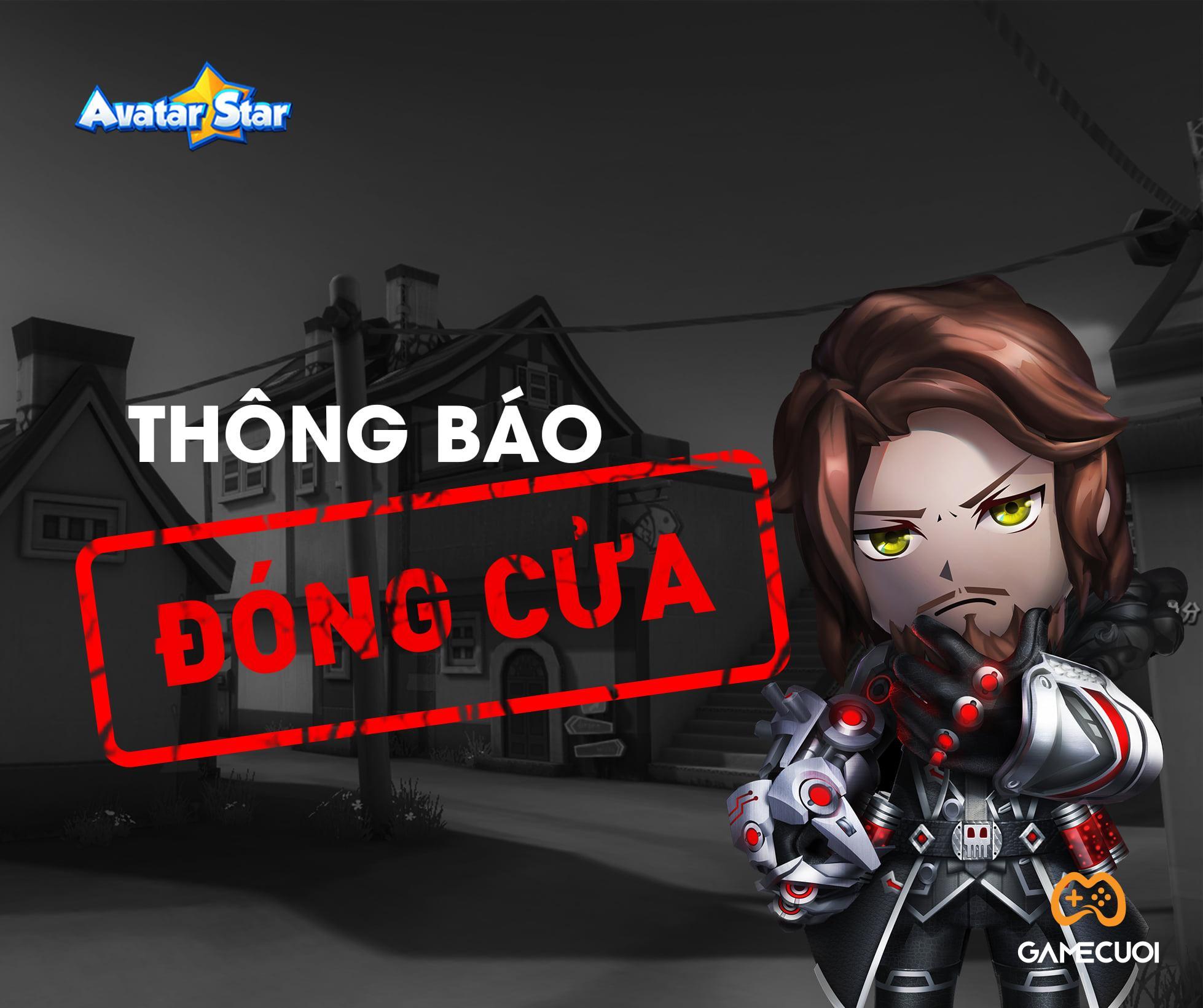 Avatar Star Online thông báo đóng cửa tại thị trường Việt Nam