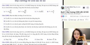 Cô giáo Minh Thu livestream triệu view dạy Vật Lý, gây sốt cộng đồng mạng là ai ?